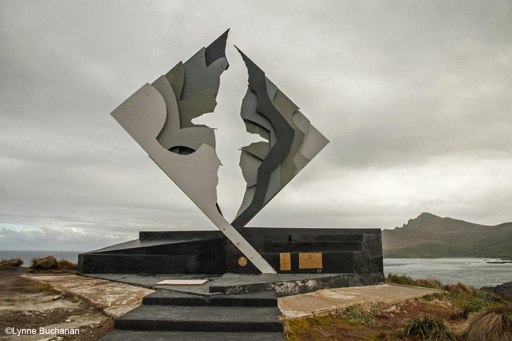 Albatross Statue, Cape Horn