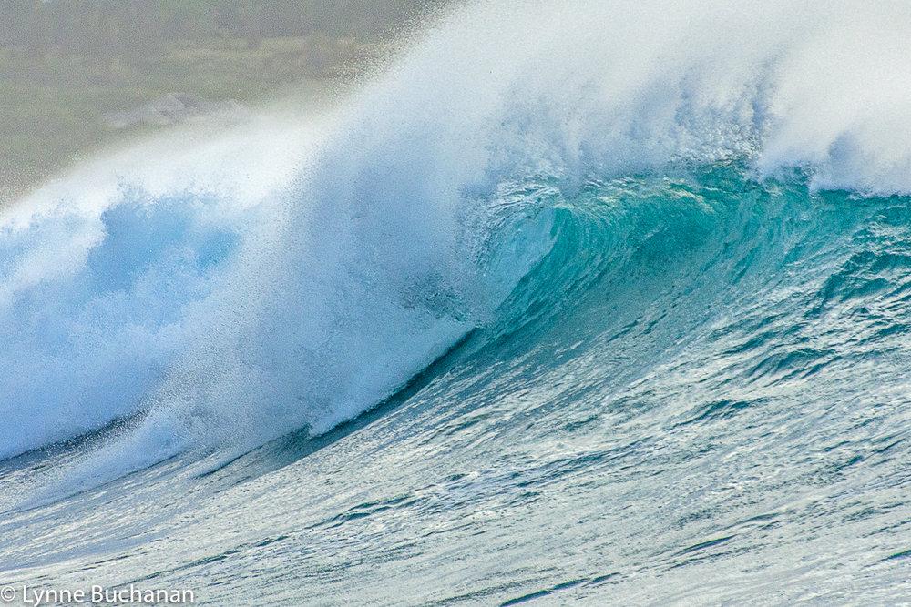 Papohaku Beach Spray and Curl