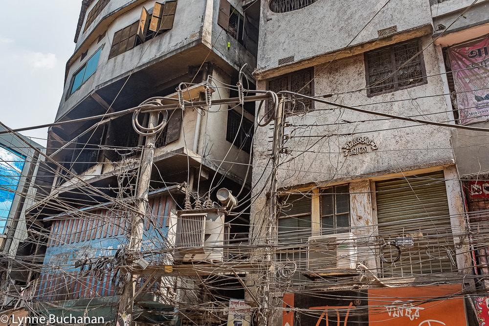 Electrical Wiring, Old Dhaka