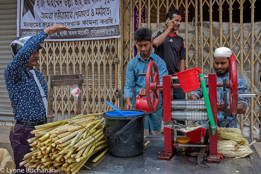 Old Dhaka Sugar Cane Vendor