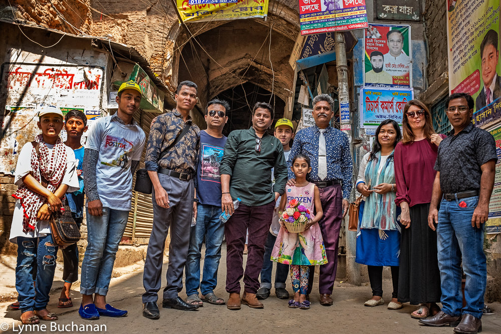 Old Dhaka, The Group of Volunteers Who Showed Me Their Town