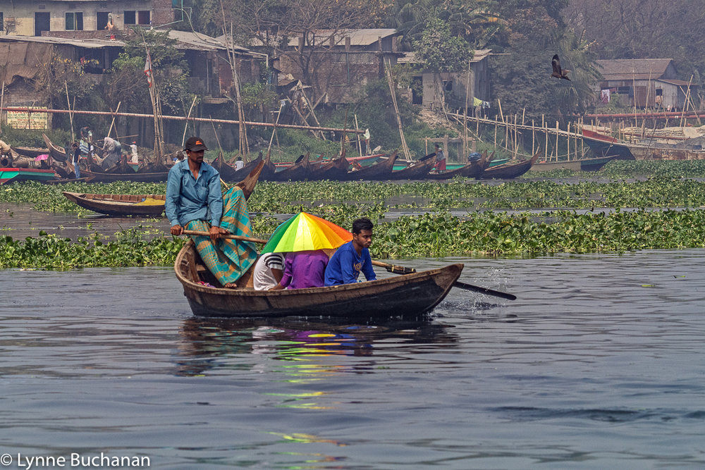Ferrying People Across the Buriganga River