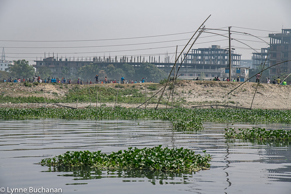 Buriganga River Park and Fishing Poles