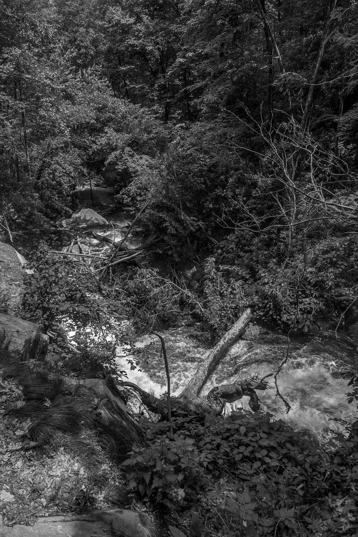 Erosion, Catawba Falls State Park