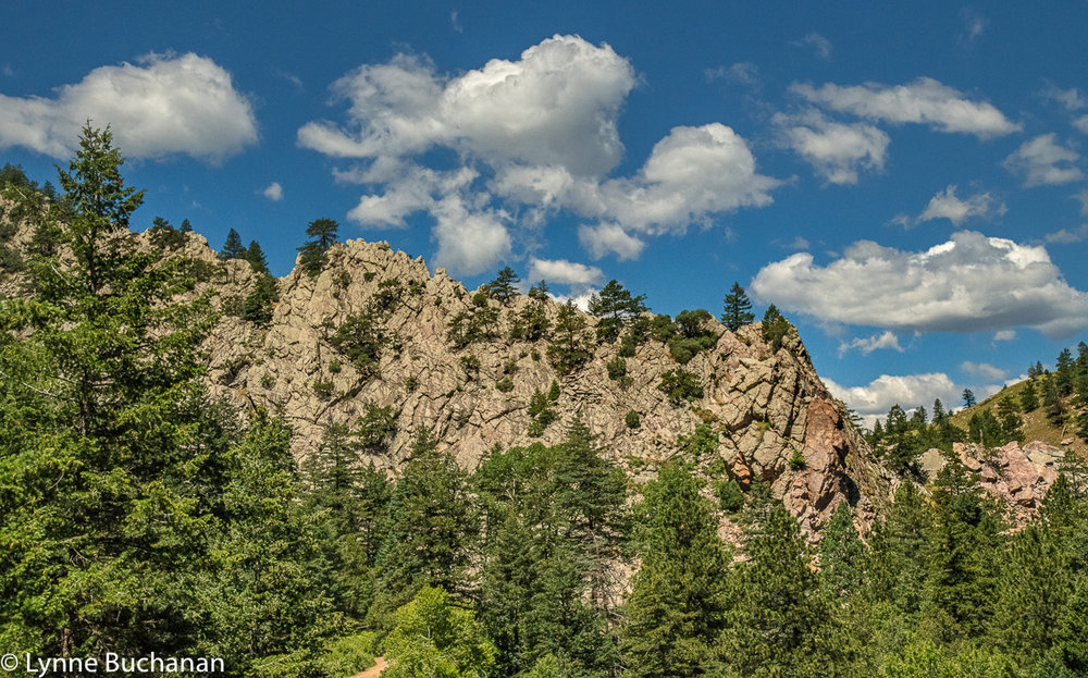 Eldorado Canyon Wall