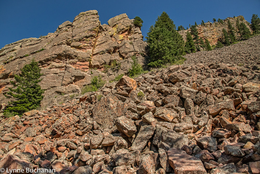 Boulders on the Fowler Trail, Eldorado Canyon