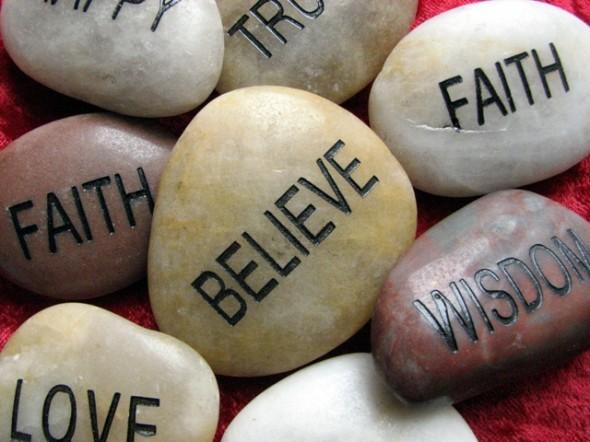 faith stones