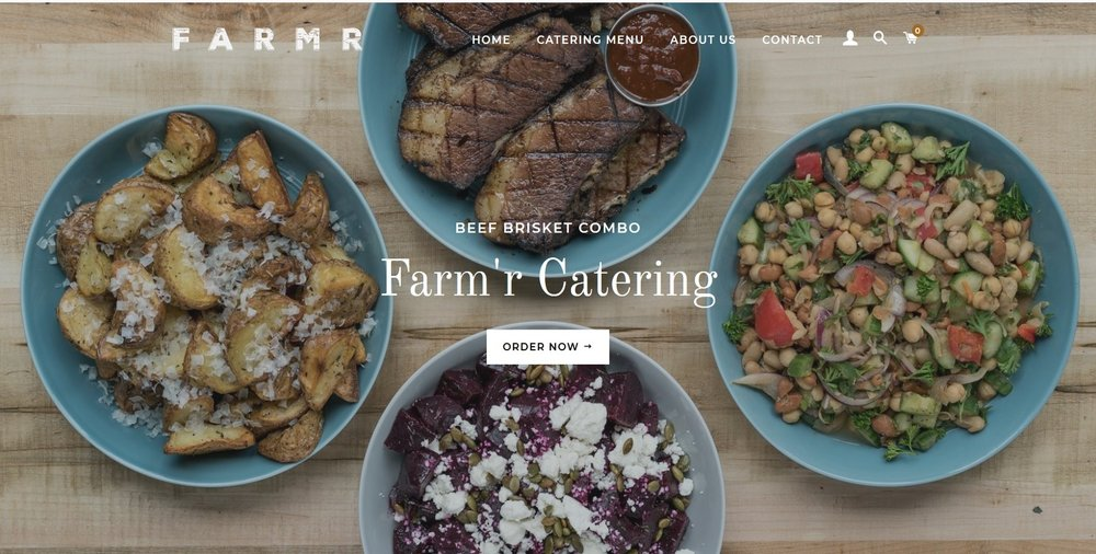 Order Now at:FarmrCatering.com -