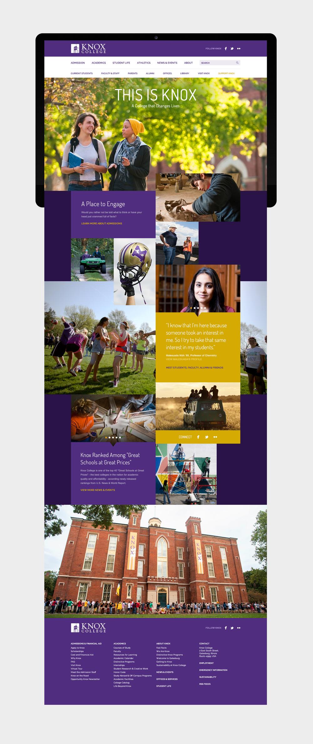Knox College Academic Calendar.Knox V V
