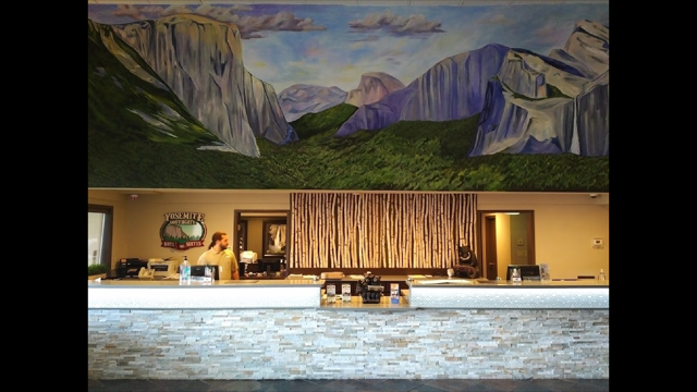 Yosemite Southgate Hotel Mural
