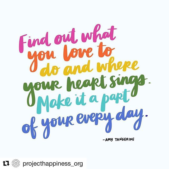 Happiness is not just a state - it's a skill that can be learned. The formula to happiness is doing what you love everyday. This can be taking a few minutes out of your day to do some doodling, write a card for someone, or trick or treating today! Happy 👻 🎃 Thank you 🙏@amytangerine @projecthappiness_org  #projecthappiness #feelgooddogood #repost