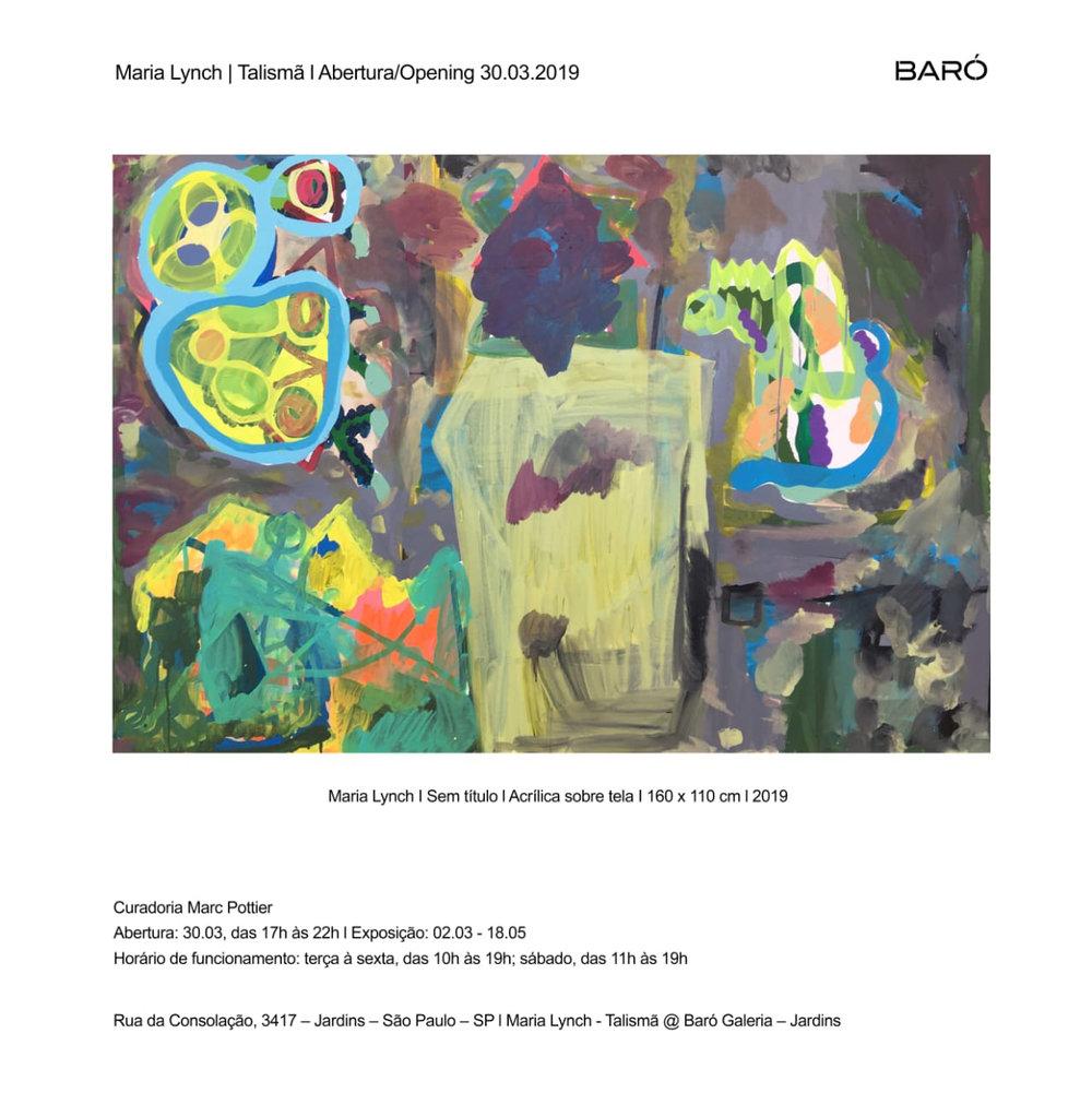 Talismã | Galeria Baró 2019