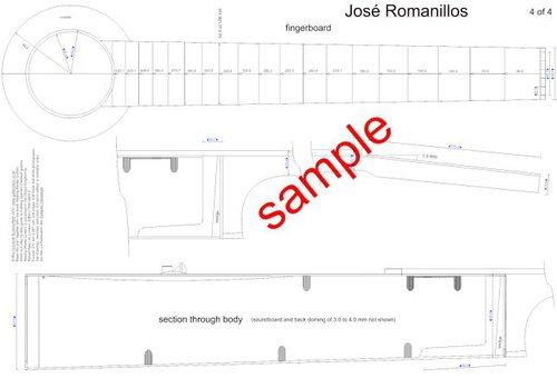 Jose romanillos guitar plans rom 4 of 4g malvernweather Choice Image