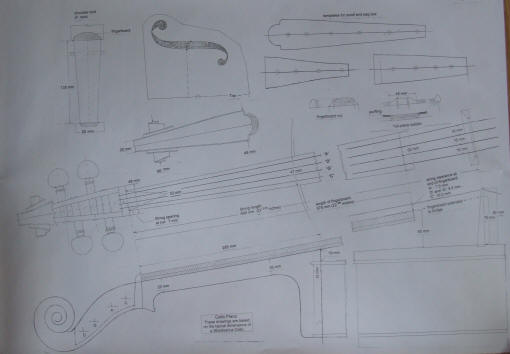 Cello+Plans ... Course, Books, Kingham & Hiscox Cases, Cello Plans ...