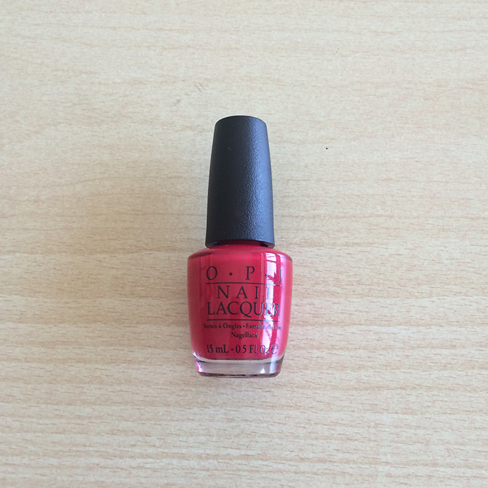 OPI Nail Lacquer In 'Color So  Hot It Berns'
