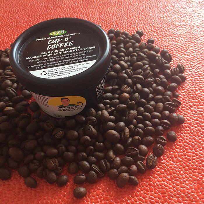 Lush Cup O' Coffee Mask