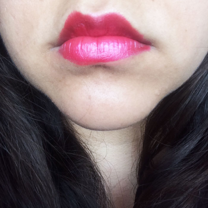 MAC Amplified Crème Lipstick in 'Fusion Pink'