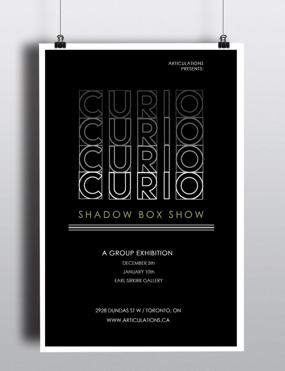 Curio Shadow Box Show