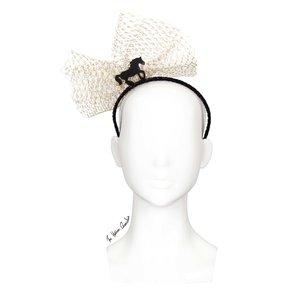 fa3933bf7f55f The Human Chameleon - Millinery - SS18 - Pony Parade Horse Headband with  Veil - Black