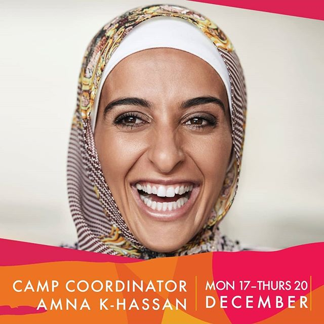 Guess who's back at CAMP?  Amna KHassan!  A woman that wears many hats (or scarfs) 😂  An Inspirational speaker on an international level, The Auburn Giants AFL Club president and player, an Ambassador for many things- I've lost track, and a Go Active advisory board member (HELPS OUT HEAPS!) She now even works at the LMA as an organisational Development Coordinator. Fancy!! This woman is an inspiration to ALL she meets.  Gigi hadid even got to meet Amna recently at a Reebok shoot!  How lucky is Gigi 😂  If you've been to camp before you'll know how fun and crazy Amna can be.  If you haven't- Then now's your chance!  Register for our SHE Summer camp.  Limited spots left!