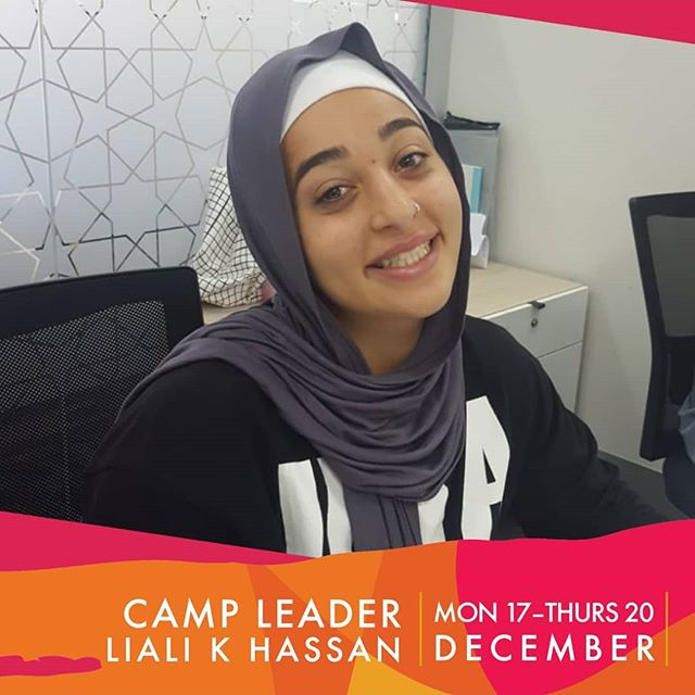 Camp Leader 3.0  Meet Liali Karra-Hassan  Liali is many things!  An athlete, Comedian, Singer (often compares herself to Beyonce, except liali is tone deaf but she tries!) 😂  Liali is an amazing athlete  She has done: - Olympic Lifting - Crossfit - Calisthenics - AFL - Gymnastics  She us truely an all rounder!  Liali is a personal trainer. She is tough, disciplined and expects high standards from her clients.  She is also amazing at working social media and is currently working at the LMA as their Social Media officer.  She is Funny, energetic and caring.  She is an awesome camp leader and we are very excited to have her back!  Last chance to register for camp.  Goactive@lma.org.au  Limited spots!!