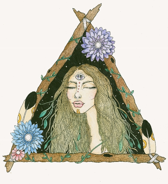 AMAHLIA- Our Guardian for 2017. Gift card and A4 prints available for purchase.  http://bodymindandsoulawakening.bigcartel.com/