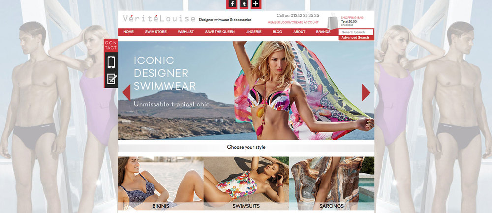 Responsive ecommerce website design and development
