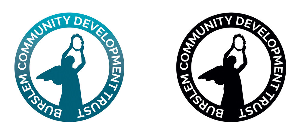 Burslem Community Development Trust logo design branding