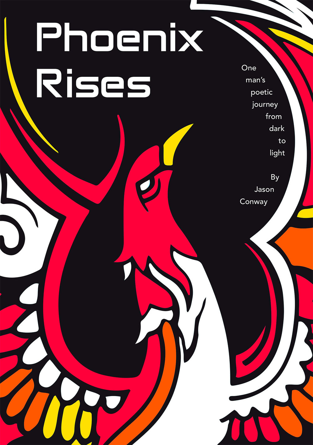 Phoenix Rises Book & Book Cover Design