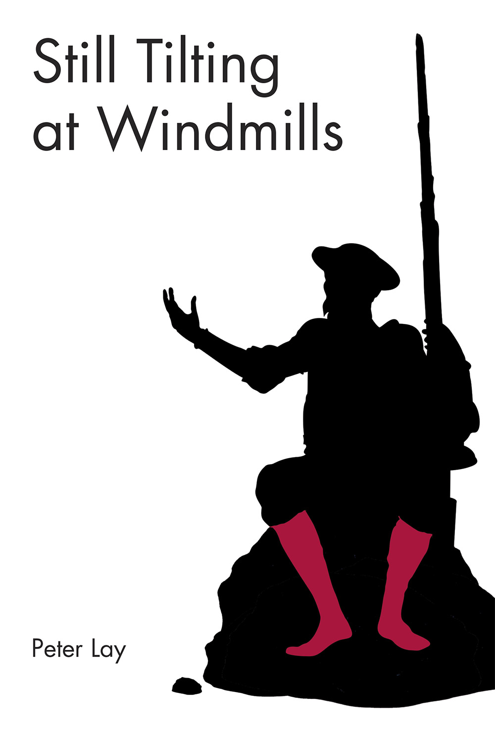 Still Tilting at Windmills Book Cover Design