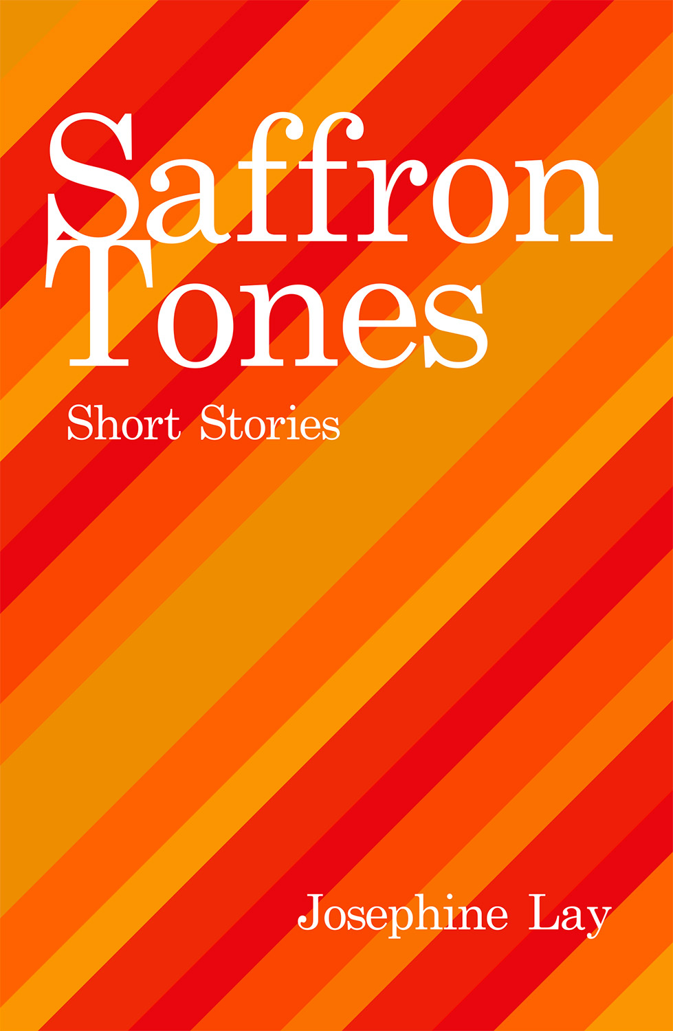 Saffron Tones Book Cover Design