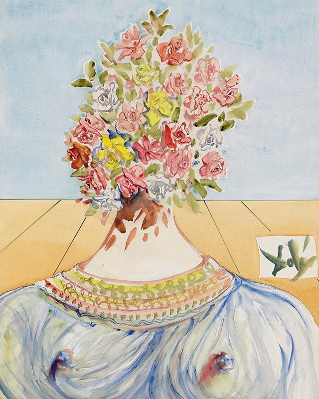 The Flowering Of Inspiration by Salvador Dali . Another beautiful inspiring morning in Gaillimh