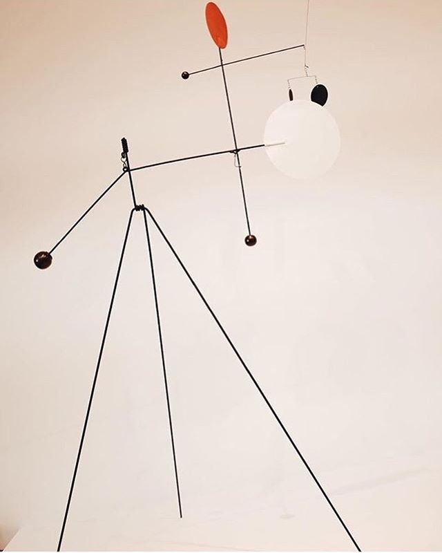 Tbt Calder at the Whitney #fineart #space #sculpture #thewhitneymuseum