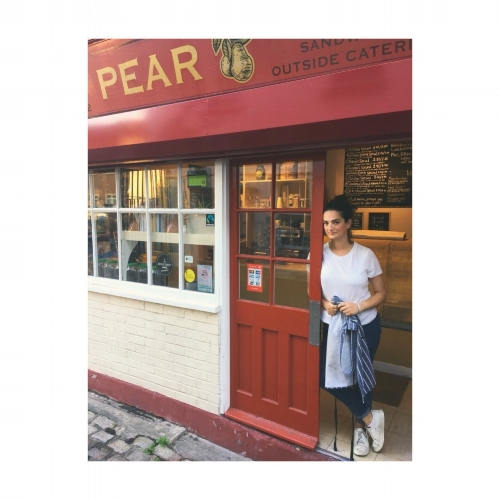 It is with great sadness, but also excitement, that Elly Curshen, Founder of The Pear Cafe, announces its closure on Tuesday 25th September.