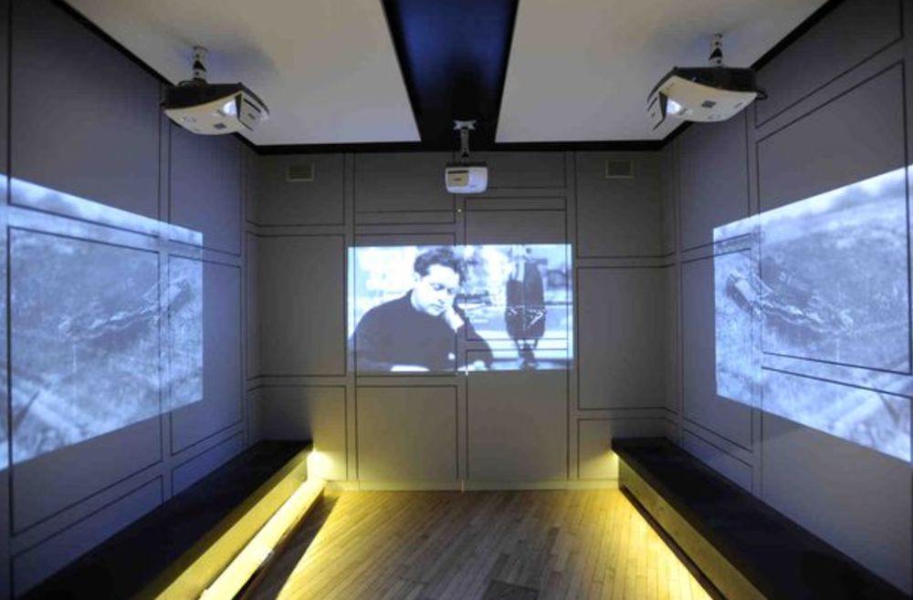 Atlas AV work at the Dylan Thomas Exhibition