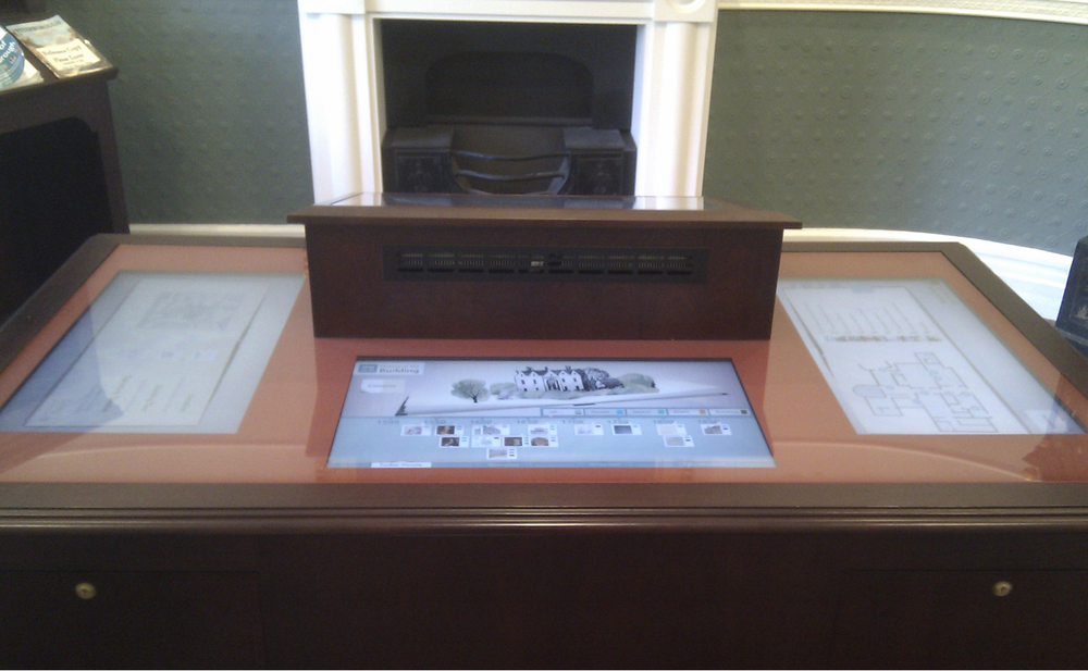 Touch table at Peterborough Museum