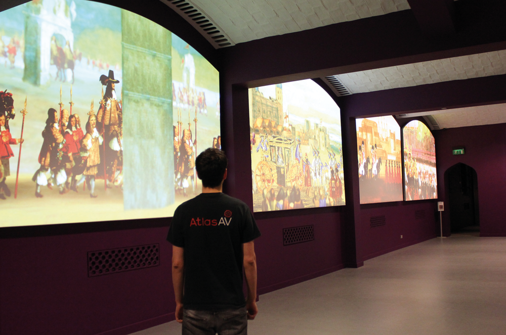 Atlas AV work for the Crown Jewels Exhibition at the Tower of London