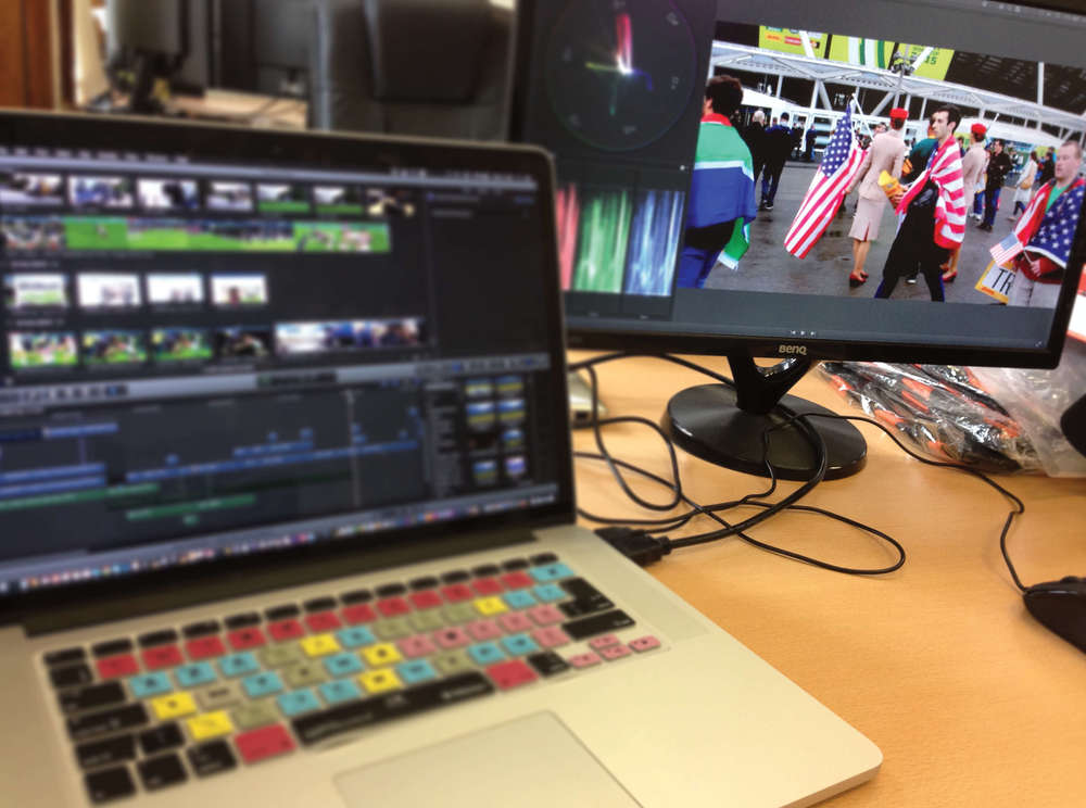 Rugby video editing