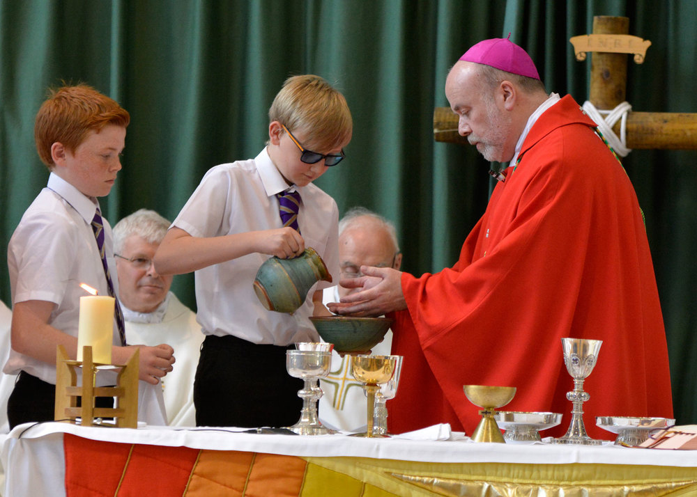 Photo: St. Mary's Menston 50th Anniversary Mass, Tuesday 30 June 2015