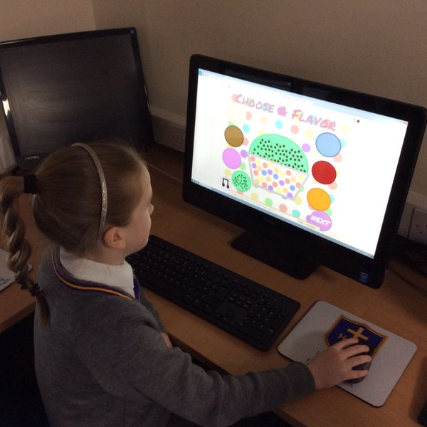 """Year 3 working on their programming unit """"We are Programmers"""""""