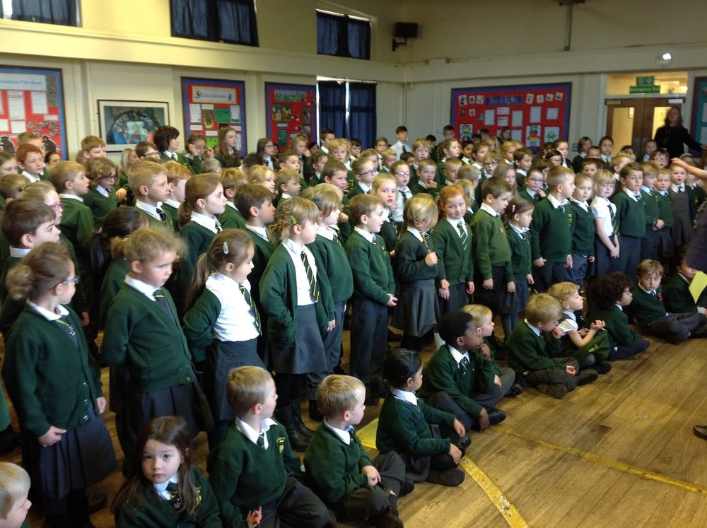This photograph shows the amount of children we have helped to have a great Christmas and receive a lovely gift.