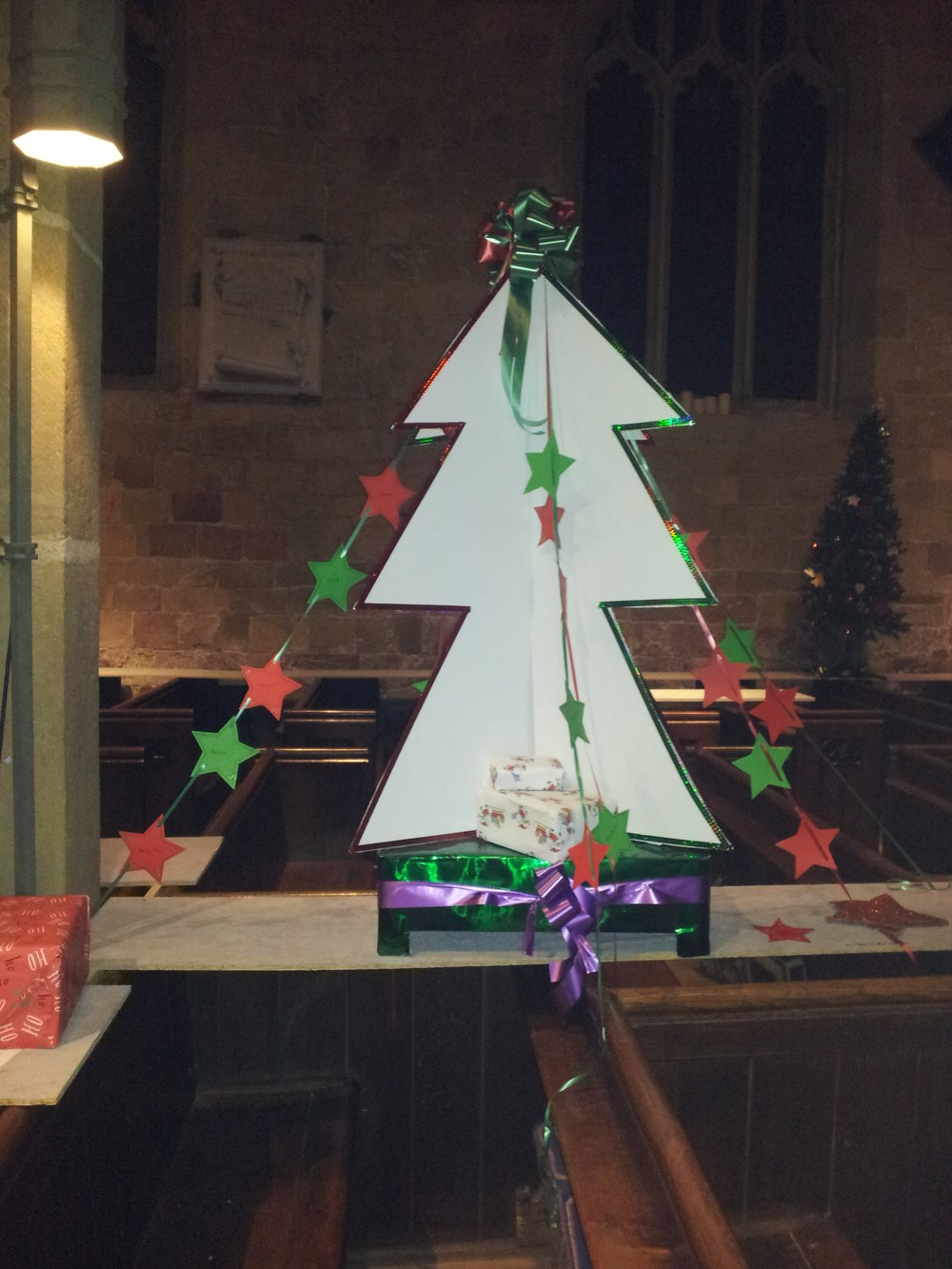 Christmas Trees in St John's Church