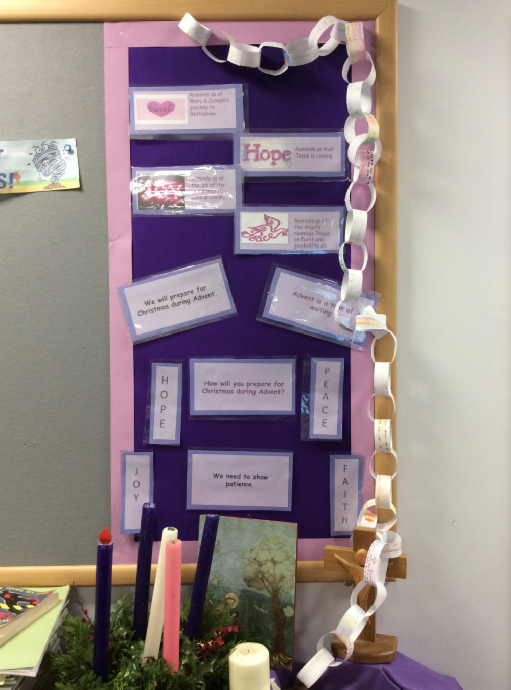 St. Francis of Assisi's Year 4 made Advent promises too