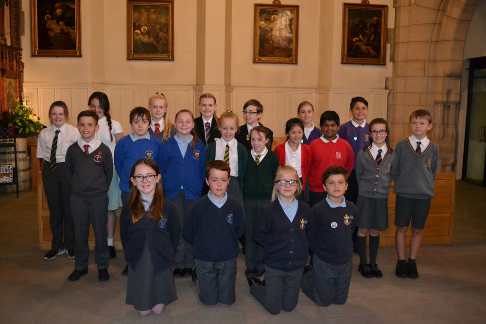Pupils from our Trust's 10 member schools