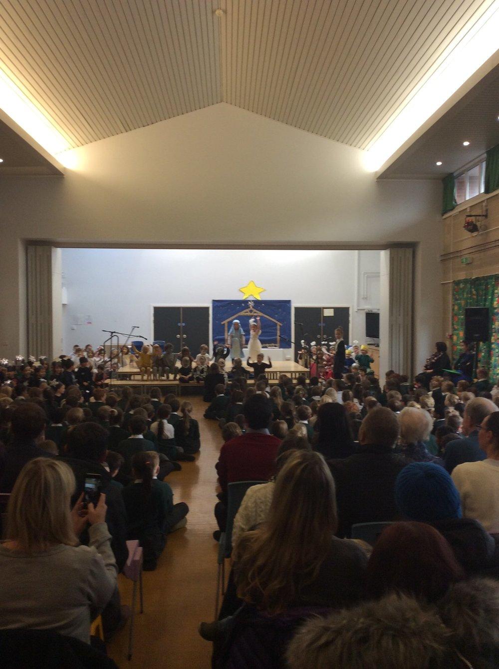 Photo: Reception and Nursery Nativity
