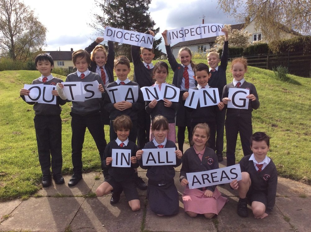 Photo: The School Council, celebrating our latest suxccess
