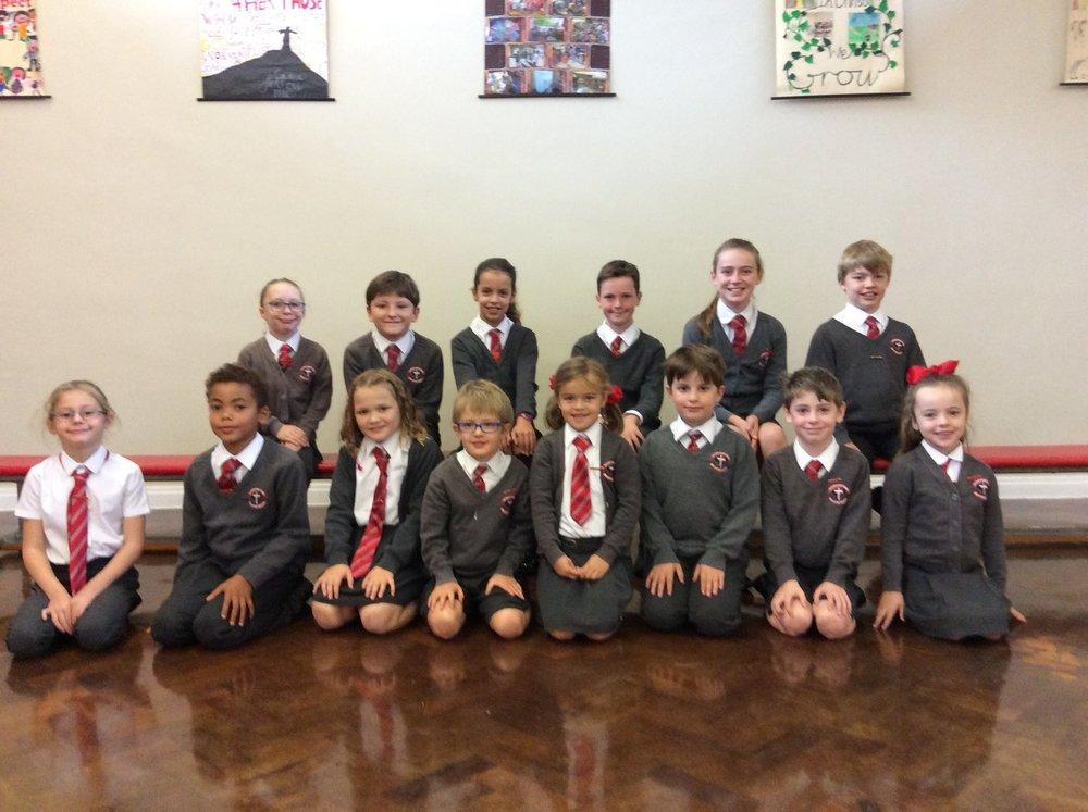 Photo: Sacred Heart Ilkley School Council 2018–19