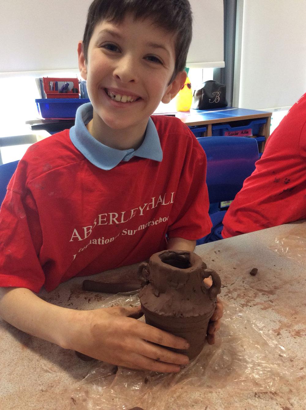 Photo: Making Greek pots