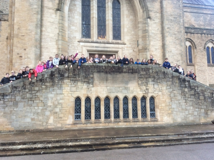 Photo: Year 5 at Ampleforth Abbey and College