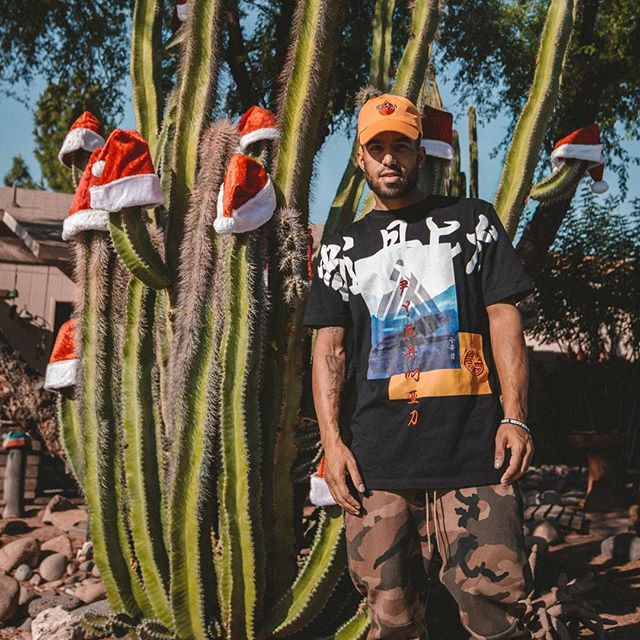 "🔥 My new album ""BLESSINGS"" (my best work yet) just dropped!!!! Merry Christmas 🎁🌲🎁 Link in bio 👆👆👆"